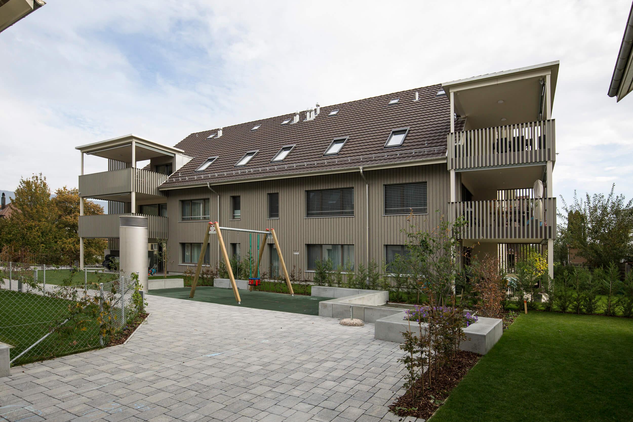 Neubau Von Drei Mehrfamilienhäuser
